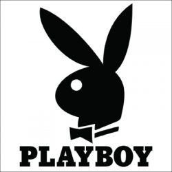 Playboy Bunny Vinyl Sticker for your wall,