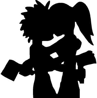 ICP Hatchet Man Girl Sticker
