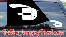 Super Android Flying Sticker. A