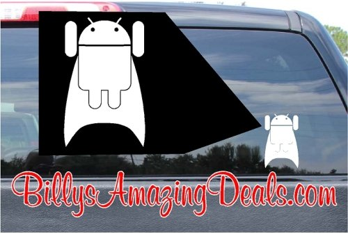 Super Android Flying Sticker B