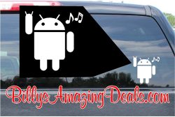 Android Rocking Sticker