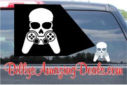 PlayStation Gamer Skull Sticker