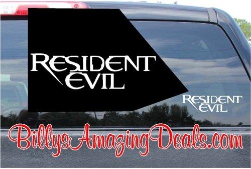 Resident Evil Sticker Decal