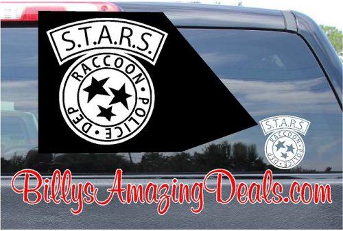 STARS Resident Evil Sticker