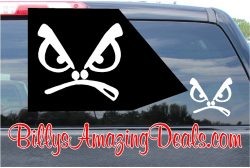 Bad Boys Face Custom Vinyl Sticker Decal