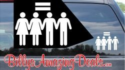 Our Marriage Equality LGBT Rights Decal Vinyl Sticker B