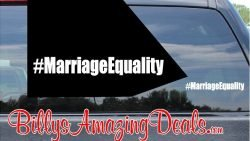 Our Hashtag Marriage Equality LGBT Rights Vinyl Sticker Decal C