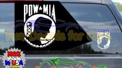 Pow Mia Stickers Military Vinyl Die Cut Decal