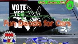 Medical Cannabis Decals