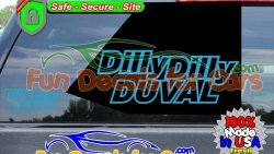 Jacksonville Duval Decals